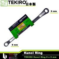 Tekiro Kunci Ring 8 x 9 mm - Kunci Ring Tekiro 8x9 mm
