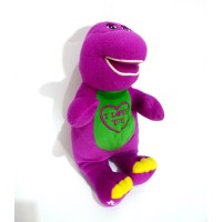Boneka Barney Doll Original Fisher Price Barney Tm Barney & Friends