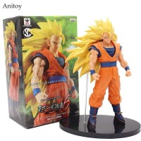Action Figure Dragon Ball Super Saiyan 3 Son Goku Scultures