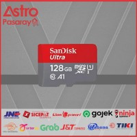 MEMORY CARD SANDISK ULTRA MICRO SDXC 128 GB SPEED UP TO 100Mb/s