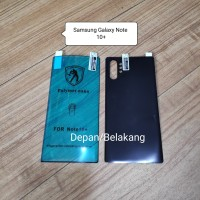Samsung Galaxy Note 10 Plus Anti Gores Polymer Nano Full Cover