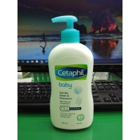 CETAPHIL BABY GENTLE WASH AND SHAMPOO WITH GLYCERIN & PANTHENOL 400 mL