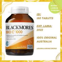 BLACKMORES BIO C 1000mg AUSTRALIA Vitamin Vit C 1000 mg 31 62 150