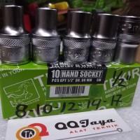 Tekiro Kunci sok 5pc/ mata sok 8-10-12-14-17/Paket hemat /DR1/2