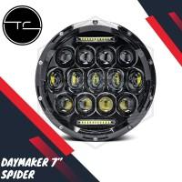 Daymaker Spider Eye 7 Inchi Lampu LED 75w Kawasaki W175