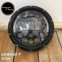 Daymaker Spider Titan Half 7 inch inchi Lampu 14 LED Motor