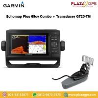 Garmin Echomap Plus 65CV Combo + Transducer GT20