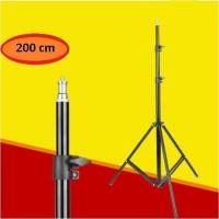 Tripod 2 Meter Stand For camera / selfie ring light / handphone 210cm