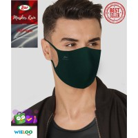 Masker Kain Rider Anti Bakteri 2 ply (Earloop Hijau)