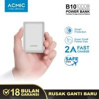 ACMIC B10 10000mAh Mini PowerBank (2A Fast Charge Input & Output)