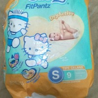 Pampers Popok Bayi Swetty Fit Pants Tipe S Unisex 9pc DryActive