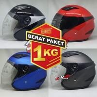 Helm DIUS Solid Helm SNI Murah Helm Halfface Helm Daiso