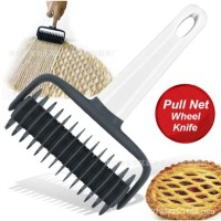 pull nett whell knife gilingan fondant gilingan kue motif pisau cutter