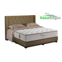 King Koil Kasur Springbed Chiro Endorsed Bed Set Ohio-Full set 160x200