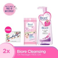 Biore Cleansing Oil Package FREE Gift
