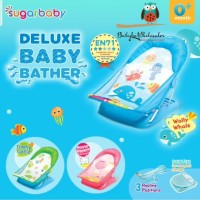 baby bather sugarbaby deluxe / tempat duduk mandi bayi sugar baby