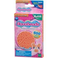 Mainan Edukasi Aquabeads Common Orange Solid Bead