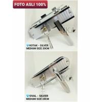 (KOMPLIT) Handle Tanggung 20cm + Body kunci pintu set KUALITAS BAGUS