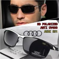kacamata hitam pria wanita original polarized UV400 audi s551 full set - Kuning, 6