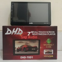 Head unit DHD-7001 android 7 inch double din DHD-7001 android 7""
