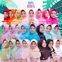MIULAN Hijab Kerudung Jilbab Instan Anak Bergo Plain Laura Kids