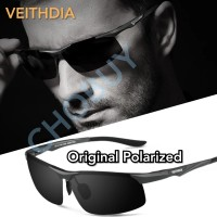 VEITHDIA Kacamata polarized pria 6502 ORIGINAL