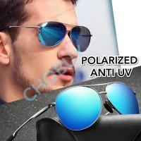 Kacamata Hitam pria Wanita Polarized Anti UV 0971
