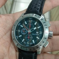 jam tangan sport nauticaa quartz chronograph