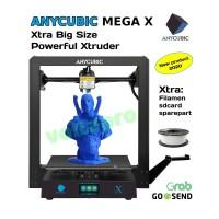 New Printer 3D Anycubic Mega X Extra Big Size Full Rigid Metal Body