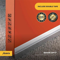 Raven Door Bottom Seal RP 17 White atau Brown 3 Meter - Putih