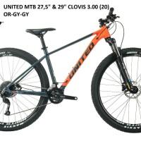 Sepeda MTB UNITED CLOVIS 3.0