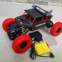 Mainan RC Rock Crawler Defender scale 1/184WD 4X4 offroad adventure