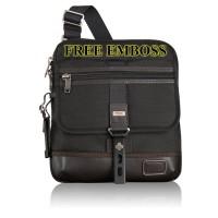 Tumi Annapolis - Black - Tas Selempang - Premium Quality (Free Embos)
