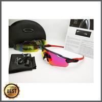 Kacamata Radar Ev hitam fire 5 lensa - kacamata sepeda diskon
