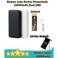 Remax Powerbank 10000mAh Dual USB Fast Charge 2.1A + Free GIFT