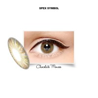 Softlens X2 Bio Four Chocolate Mouse by Spex Symbol