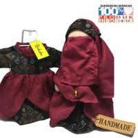Boneka Anak Radinka doll Batik Dayak Outfit - Shinta