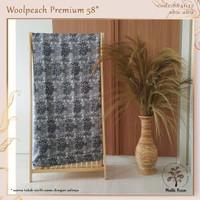MUKA IG kain woolpeach wolfis woolfis premium harga per 50 yard cat 1