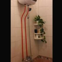 Paket instalasi luar water heater modena 15 L /instalsi tanpa bobok d