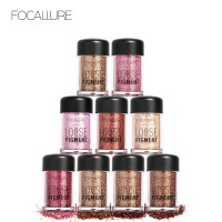 FOCALLURE Shimmer Eyeshadow Pearlscent Flash Powder FA37 - 12 Colors
