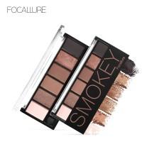 FOCALLURE 6 Colors Glamorous Smokey Eyeshadow Palette FA06