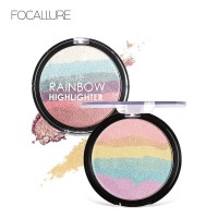 FOCALLURE RAINBOW HIGHLIGHTER Face contour women professional FA35