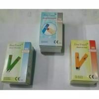 paket strip easy touch 3in1 gula darah,kolesterol dan asam urat