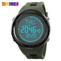 SKMEI Jam Tangan Digital Pria Kompas - Army Green