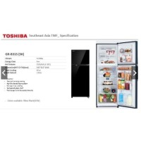 Kulkas 2 pintu TOSHIBA GR-B31IS inverter