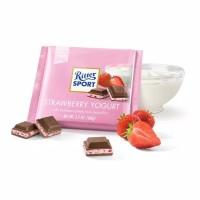 Ritter Sport Strawberry Yogurt 100Gr