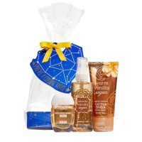 BATH & BODY WORKS BBW WARM VANILLA SUGAR GIFT SET