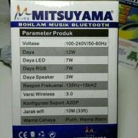 Sale Bohlam Speaker Musik Bluetooth 2 In 1 - Lampu Speaker Led Fleco