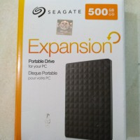 Harddisk HDD Eksternal Seagate 500GB