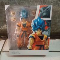 Action figure SHF Dragon Ball Super saiyan Blue Son Goku